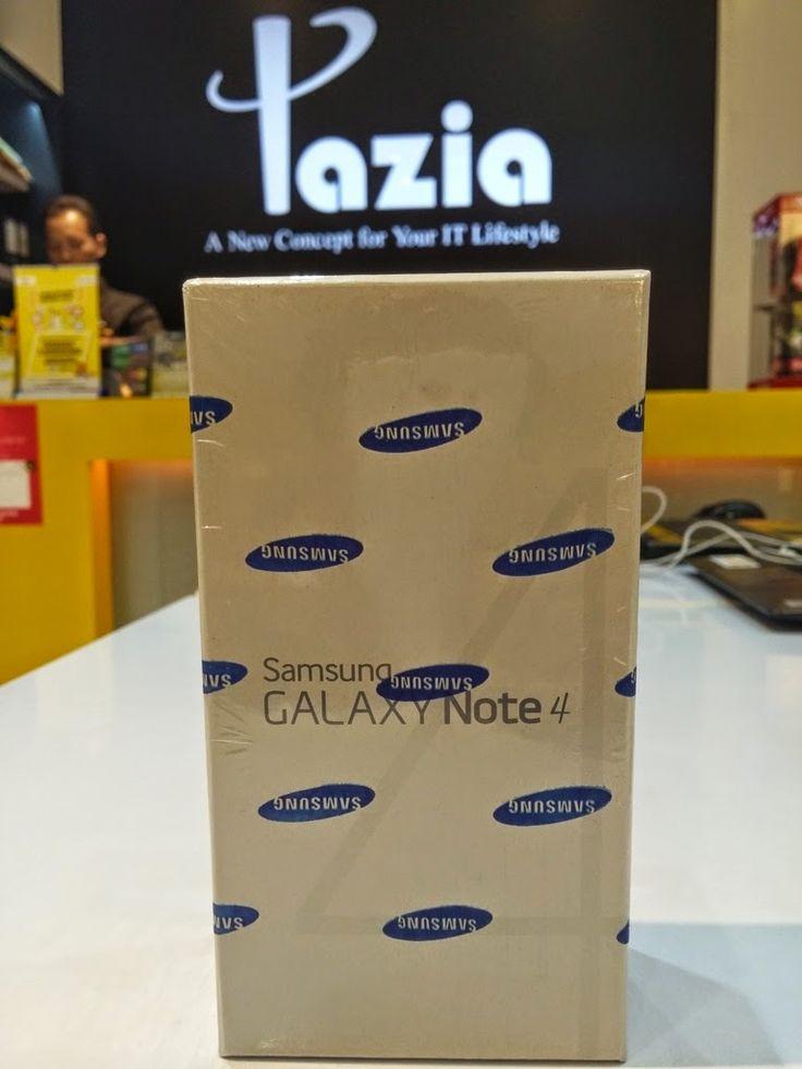 Kredit Samsung Galaxy Note 4 tanpa kartu kredit. Proses mudah dan cepat. hanya 1 jam sudah bisa bawa pulang hp.