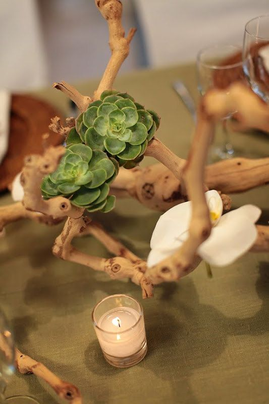 Driftwood Wedding Centerpiece With or by SandSeaSunWeddings