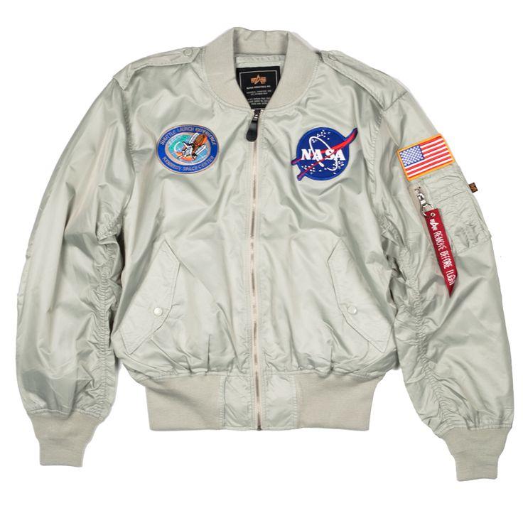 NASA L-2B Flight Jacket | Styles | Nasa bomber jacket ...