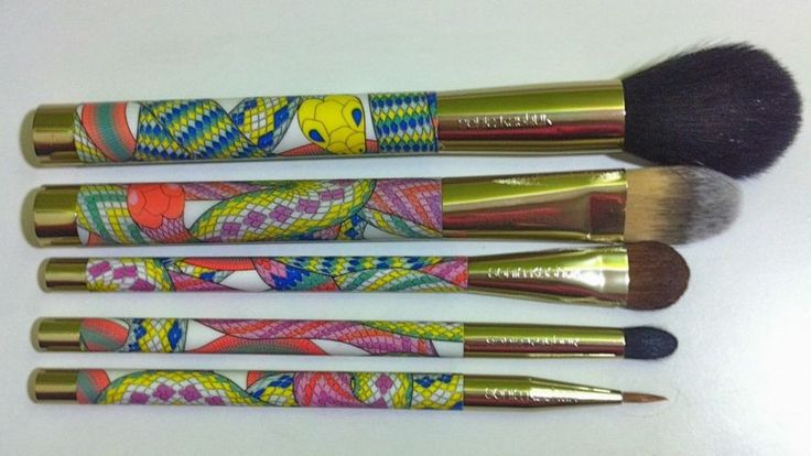 Sonia Kashuk Brush Couture - 5 Piece Brush Set - Limited Edition