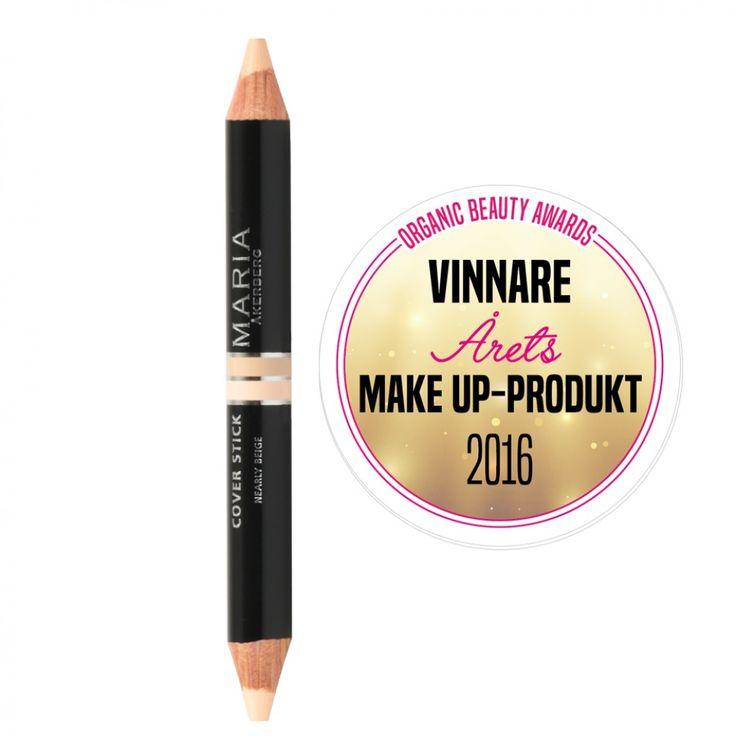 Ekologisk cover stick från Maria Åkerberg – Stort utbud av ekologiskt smink – Köp ekologisk makeup med snabb leverans hos Naturligt Snygg
