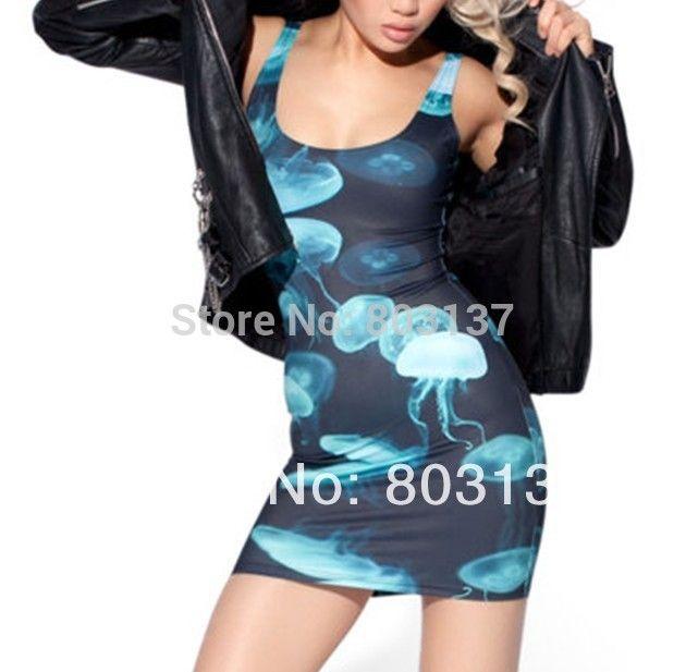 Goedkope nieuwe 2014 sexy vrouwen designer kwallen jurk een  stuk Galaxy pakket hip sundress fitness toevallige zomer elegante jurken s119 47, koop Kwaliteit jurken rechtstreeks van Leveranciers van China: Azië middelgrote staat u +/- 1.5cm verschil voorpolyester 88%& spandex 12% 1. als ugecombineerde versc