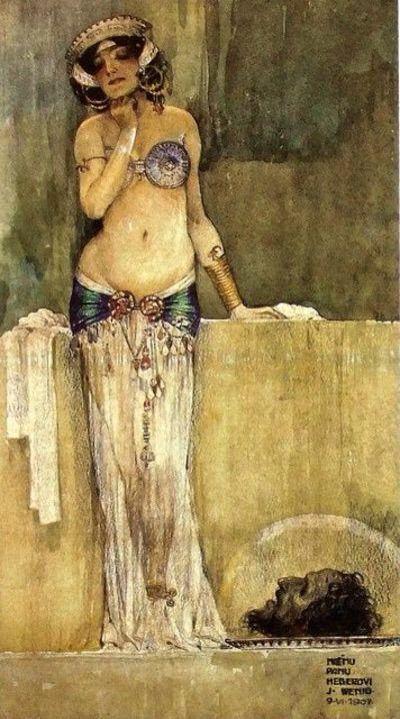 Josef Wenig (1885-1939) - Salome