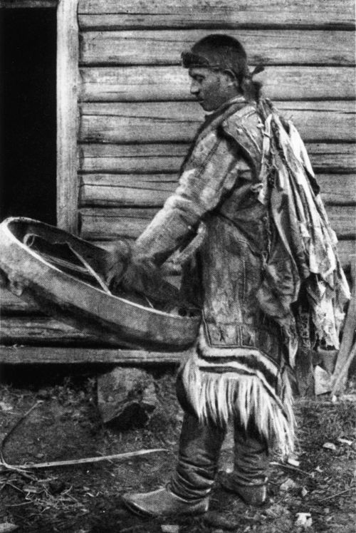 Photo of a Selkup shaman from the first half of the 1910's        Museum of Cultures, National Museum of Finland