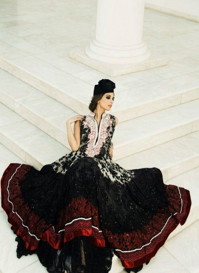 Umer Sayeed Winter Dresses Collection 2013 | Latest Fashion Trends