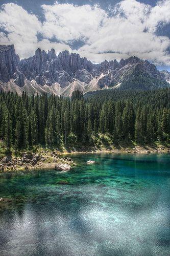 Carezza Lake HDR