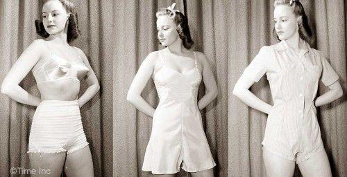 Appropriate underwear for slack wearing - 1942