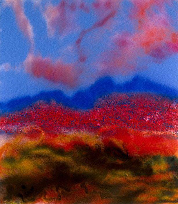 "Sidney Nolan ""Desert"" 1986"