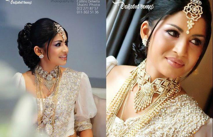 Modern Kandiyan Sri Lankan Bride Wedding Inspiration