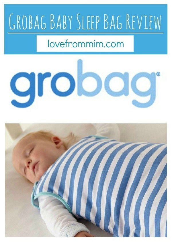 Grobag Baby Sleeping Bag Review - Love from Mim