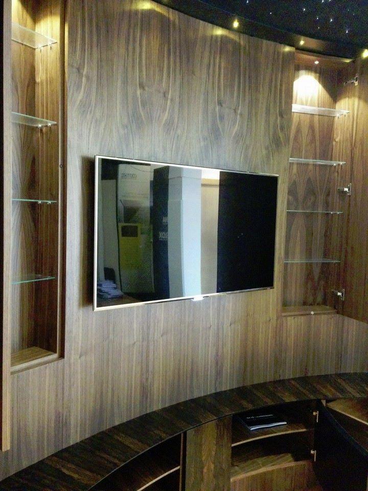 Detail with doors open to cinema room.