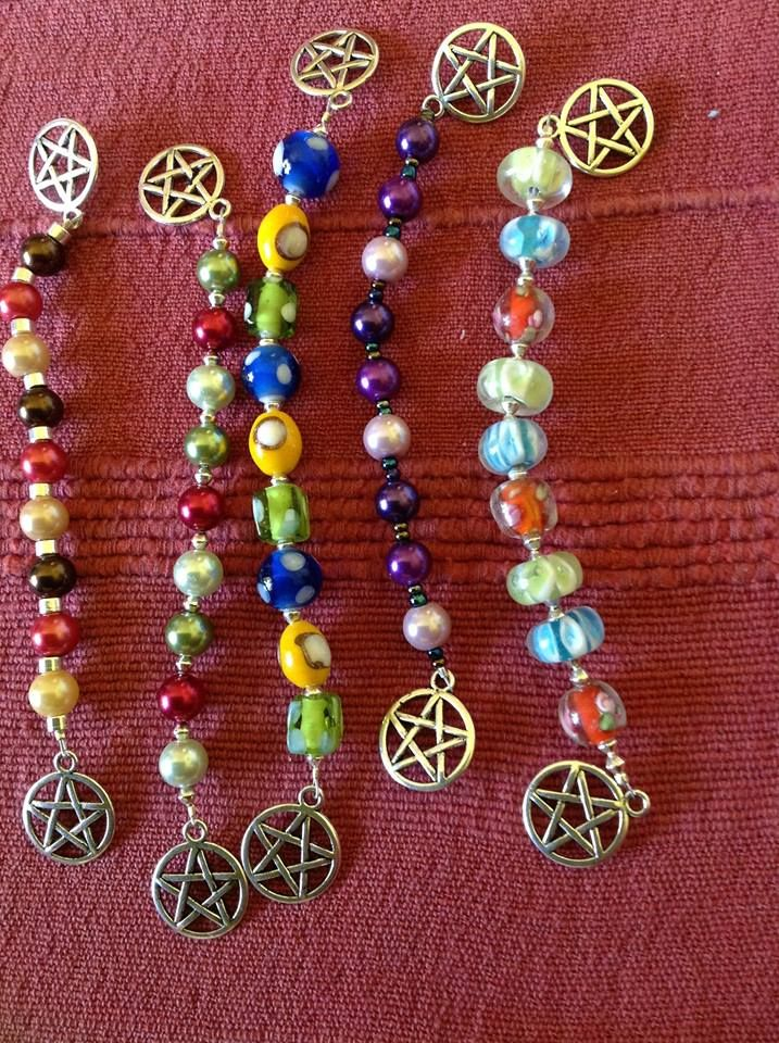 Witches Ladders Meditation Beads Witch Wiccan Crafts