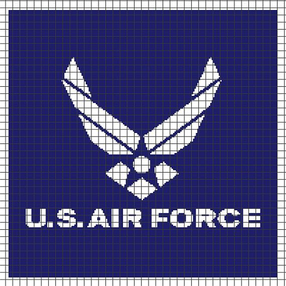 U.S. Air Force (Chart/Graph AND Row-by-Row Written Instructions) - 01