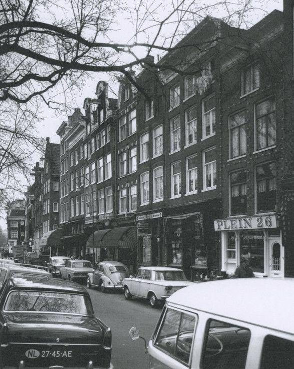 1960's. Nieuwmarkt in Amsterdam. #amsterdam #1960 #nieuwmarkt