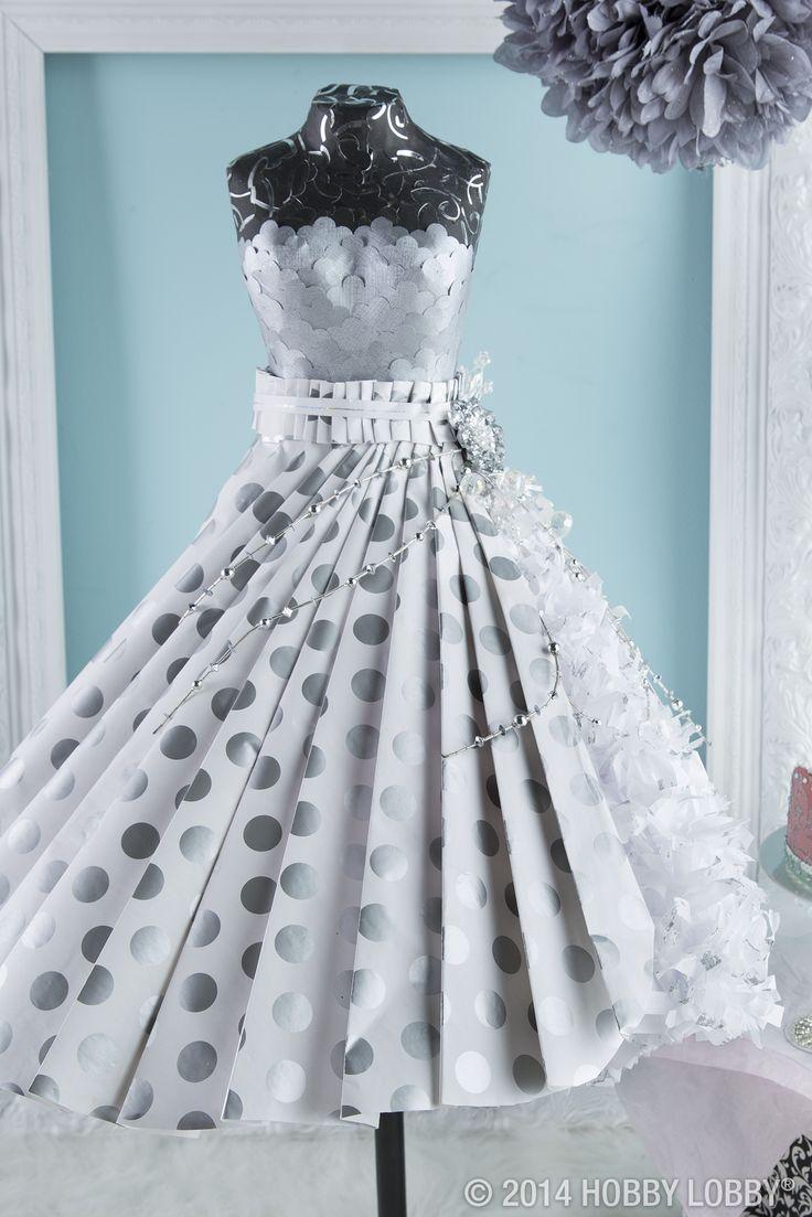 245 best Paper dress, mini mannequin images on Pinterest | Card ...