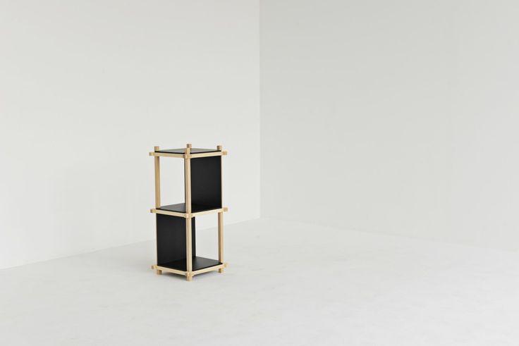 Knot Shelf 40, 3 levels. #mwa #makerswithagendas #mwadesign #agendadrivendesign #mwagram #nomadicliving #minimallogistics