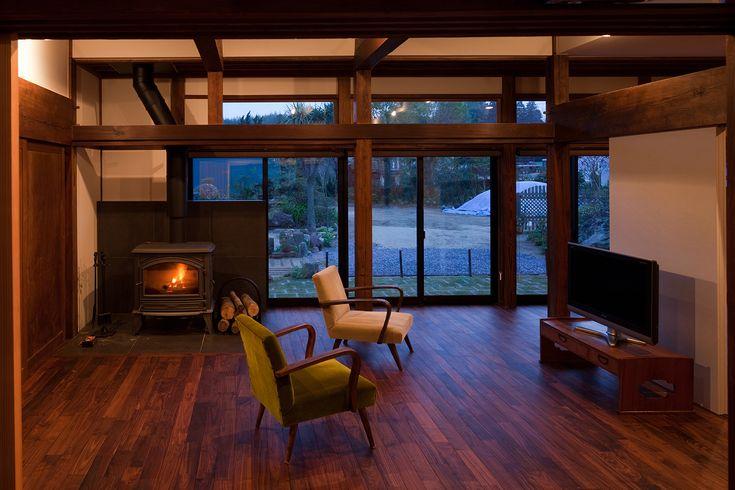古民家再生住宅【Old Japanese imber house renovation】 GOOD DESIGN AWARD 2012 BEST100 #igawa_arch #architecture #house #living