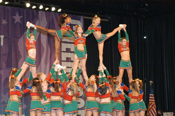 1000+ Images About Cheerleading Formations On Pinterest
