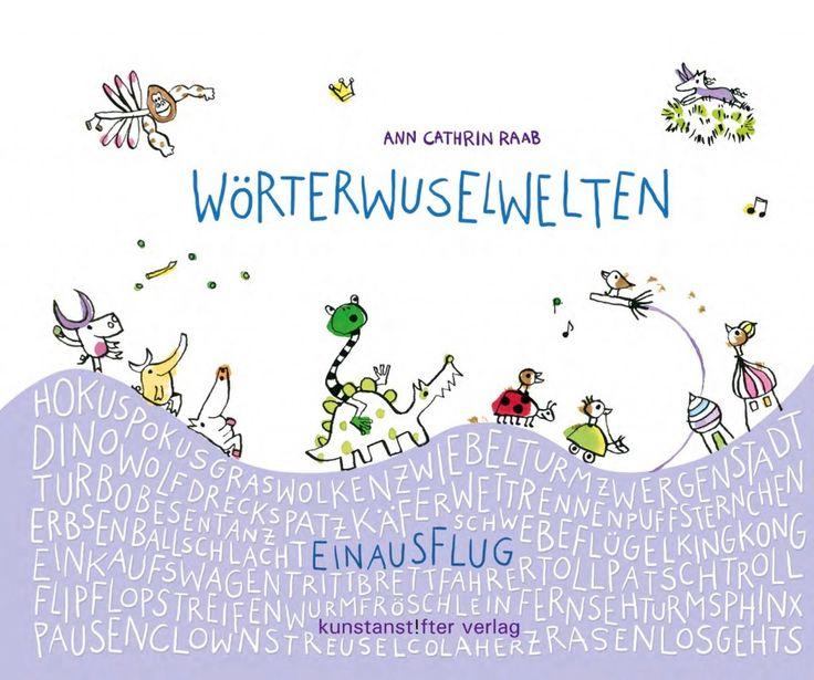 Im Kunstanstifter Verlag für Illustration ist ein Wimmelbuch der anderen Art erschienen. Bilderbuch Rezension von @juliliest