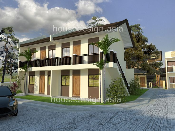 gallery for 2 storey apartment design exterior