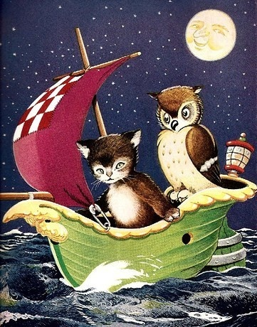 35 best the owl and the pussycat images on pinterest owls owl and owl and the pussycat vintage cross stitch pattern from bella stitchery fandeluxe Choice Image