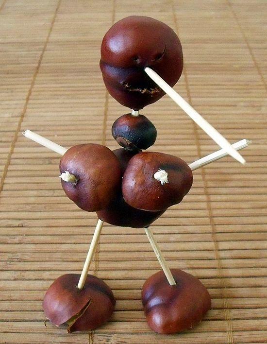 Podzimní tvoření s dětmi - Prsatý Pinocchio, náhradní nohy a jiné obludnosti