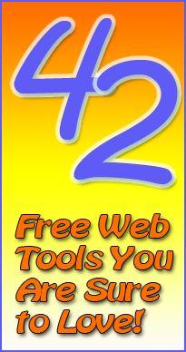 42 Free Web Tools