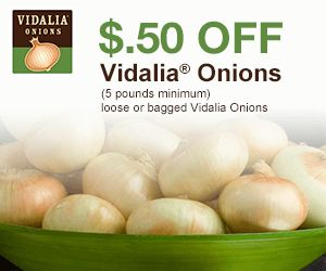 Check out this coupon for sweet Vidalia Onions!