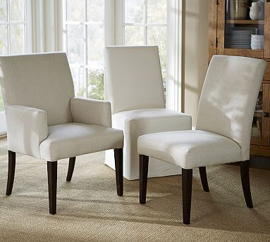 Pb Comfort Square Upholstered Chair Arm For Ends Of Table