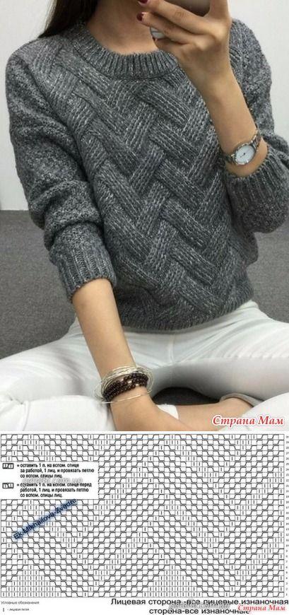 Популярный пуловер для дочки с али-экспресс связанный спицами - Вязание - Страна Мам