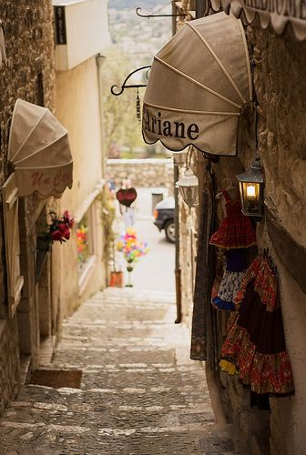 | ♕ |  St-Paul-de-Vence, Provence  | by © Matt Borkowski via bonparisien: ysvoice: manoelwilliam