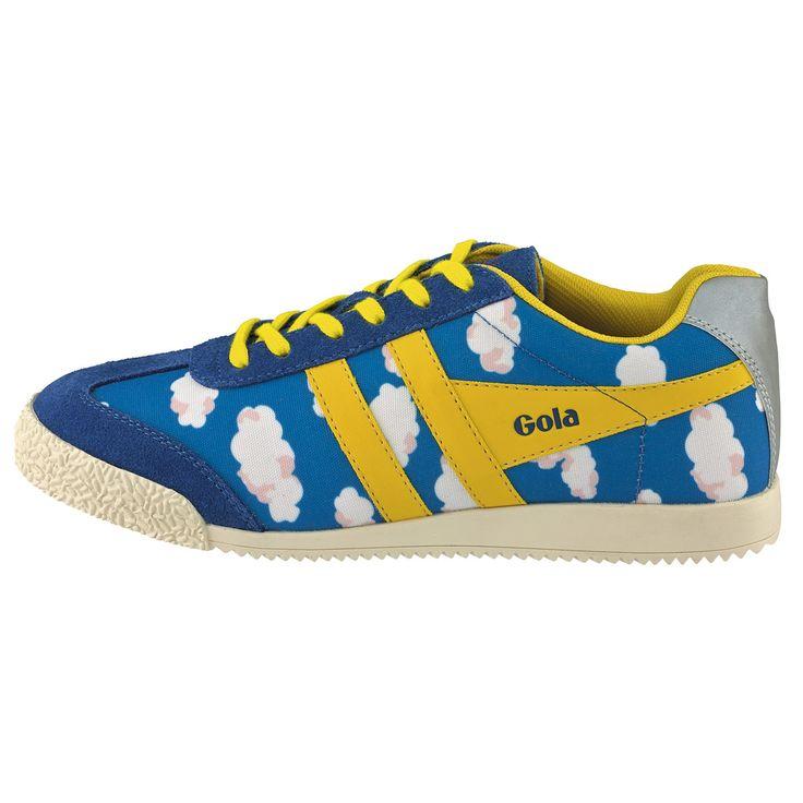 Gola x Cath Kidston Mini Clouds Trainers | Shoes & Wellies | CathKidston http://www.cathkidston.com/caths-weather-shop/gola-x-cath-kidston-mini-clouds-trainers-1014403