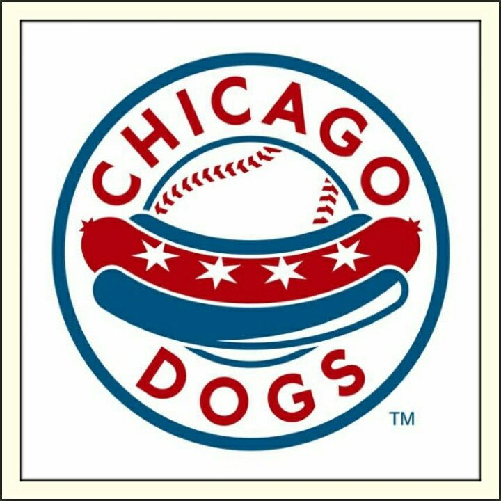 Chicago Dogs: American Association of Independent Professional Baseball Logo (2017)