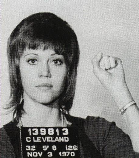 Jane Fonda fights the power-- gender bent Sirius!...BITCH! Vietnam Vets will never forget Hanoi Jane