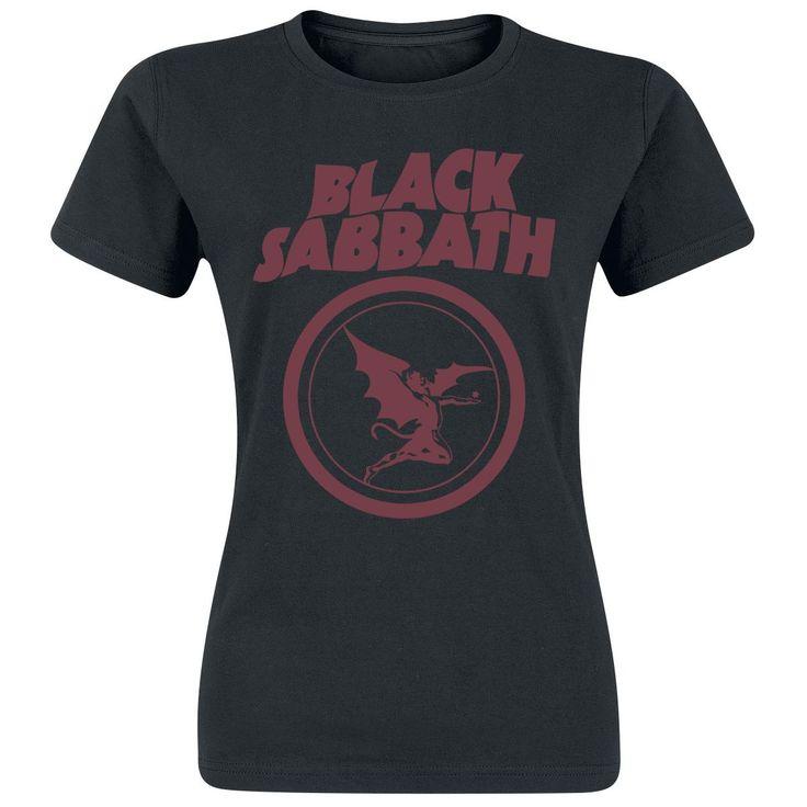T-Shirt von Black Sabbath! Must-Have für die Festivalseason! #blacksabbath #bandshirt #empstyle