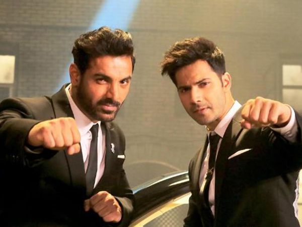 John Abraham says it is easy to do action but when it comes to dancing he finds tough to match steps with his 'Dishoom' co-star Varun Dhawan.