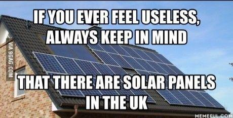 Solar Panels in the UK ...