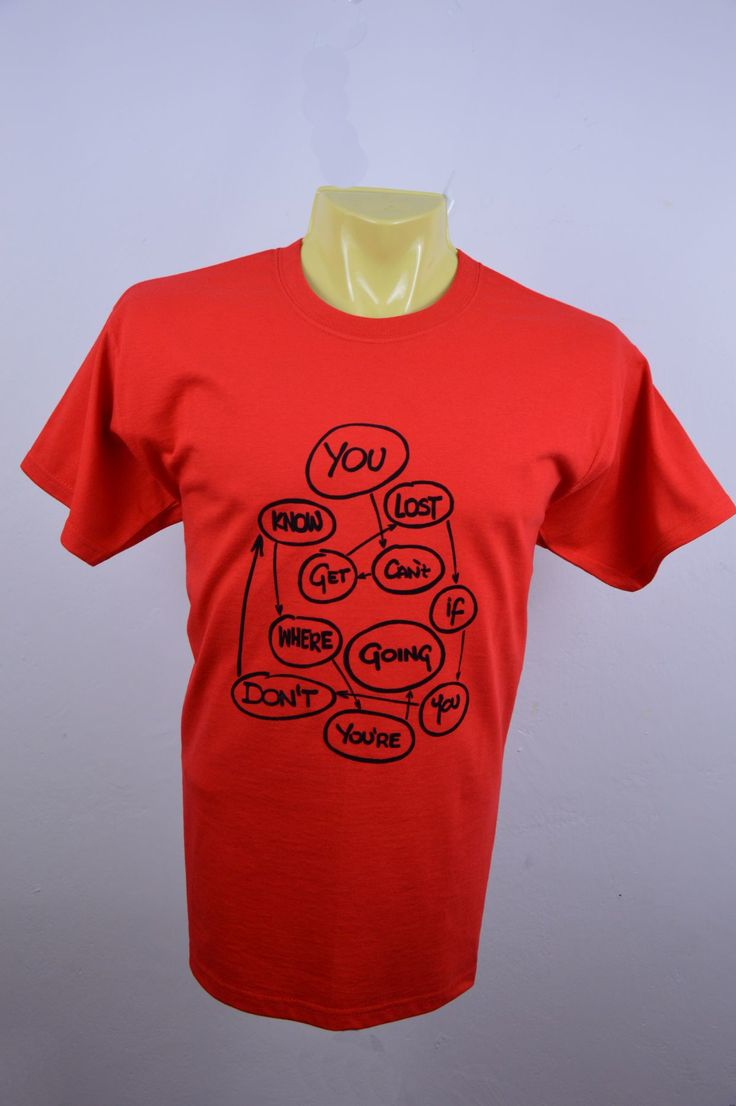 Koszulka YOU red