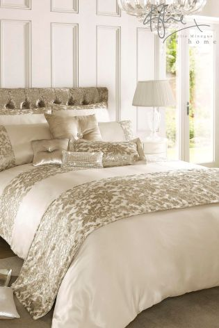 Buy Kylie Eloise Gold Duvet Cover from the Next UK online shop