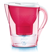 Brita Marella water filter jugs are bright and funky additions to your kitchen.