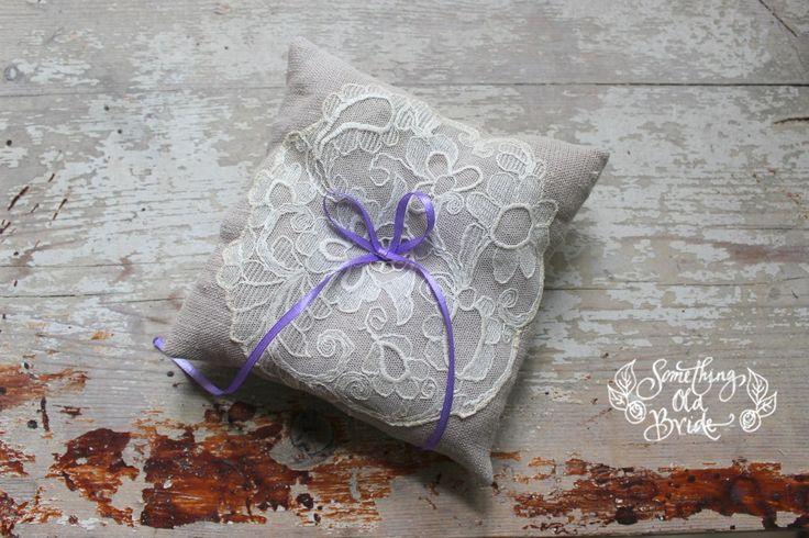 Gyűrűpárna   Something Old Bride
