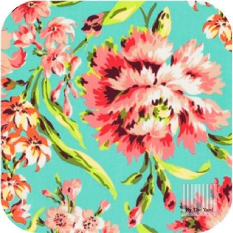 Amy Butler - Bliss Bouquet in Teal