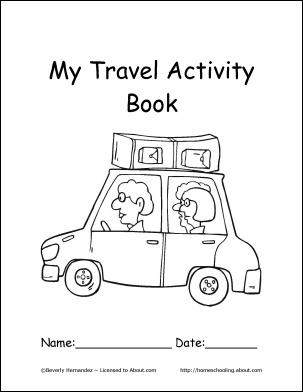 75 best Travel Activity Books for Kids images on Pinterest DIY