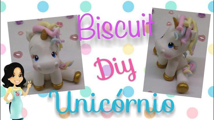 Diy Unicornio de Biscuit - Rejane Kesia