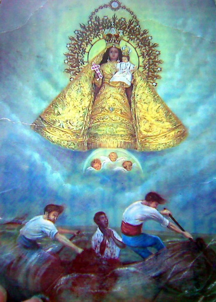 400th Anniversary of the Finding and Appearance of the Virgen de la Caridad del Cobre to the Three Fishermen near the Bay of Nipe by Santiago de Cuba, Oriente, Cuba.
