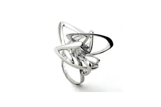 Drago ring | Stefania Lucchetta | #silverjewelry #organic