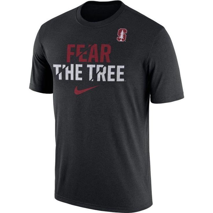 Nike Men's Stanford Cardinal Black Ignite Verbiage Legend T-Shirt, Size: XL, Team