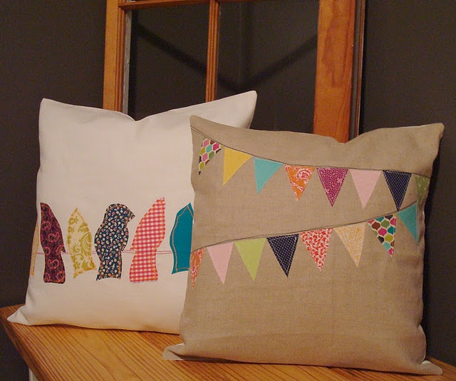 Not exactly a quilt pattern, but can use the scraps to make these fun pillows!