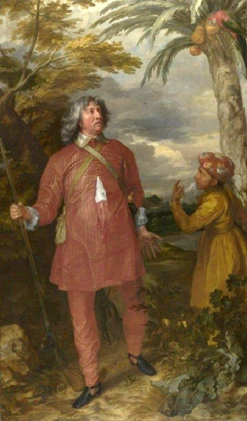 1633 Anthony van Dyke (1599-1641) William Feilding, 1st Earl of Denbigh…