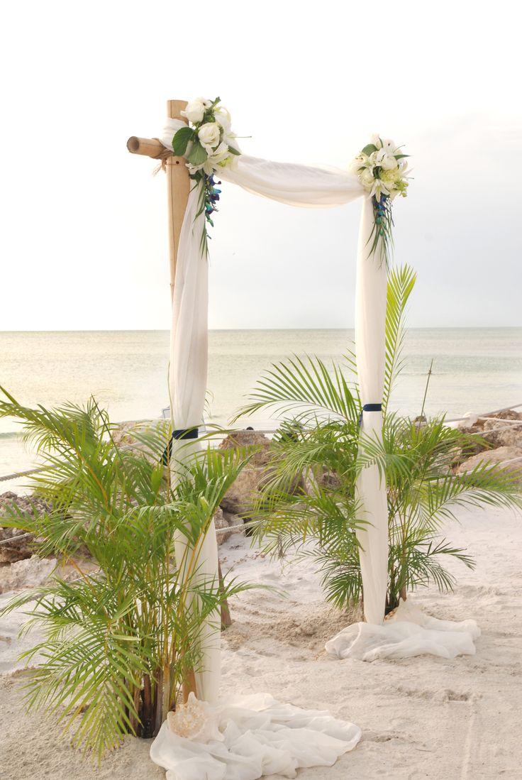 25 Best Ideas About Beach Wedding Arbors On Pinterest